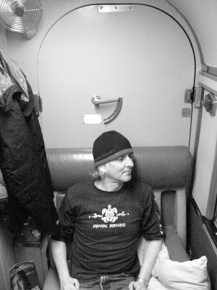 Via Rail Train Cabin For One