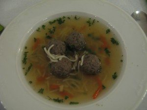 Czech wedding Soup