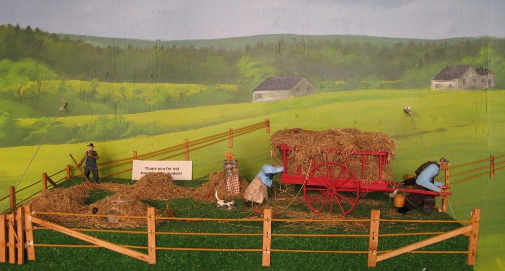 Farming Scene at the Heritage Models Museum