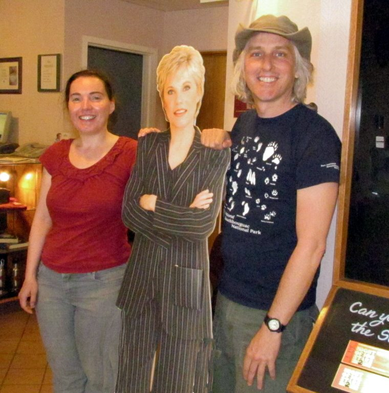 Hanging out with Anne Murray