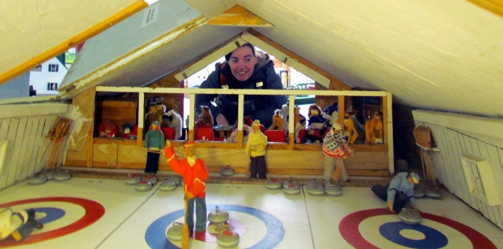 Curling Rink at the Hertiage Models Museum