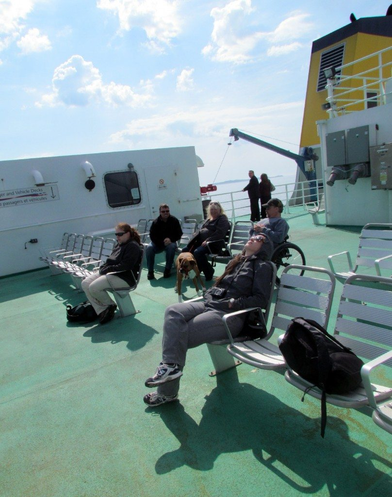 Sit back and relax on the ferry to Grand Manan!