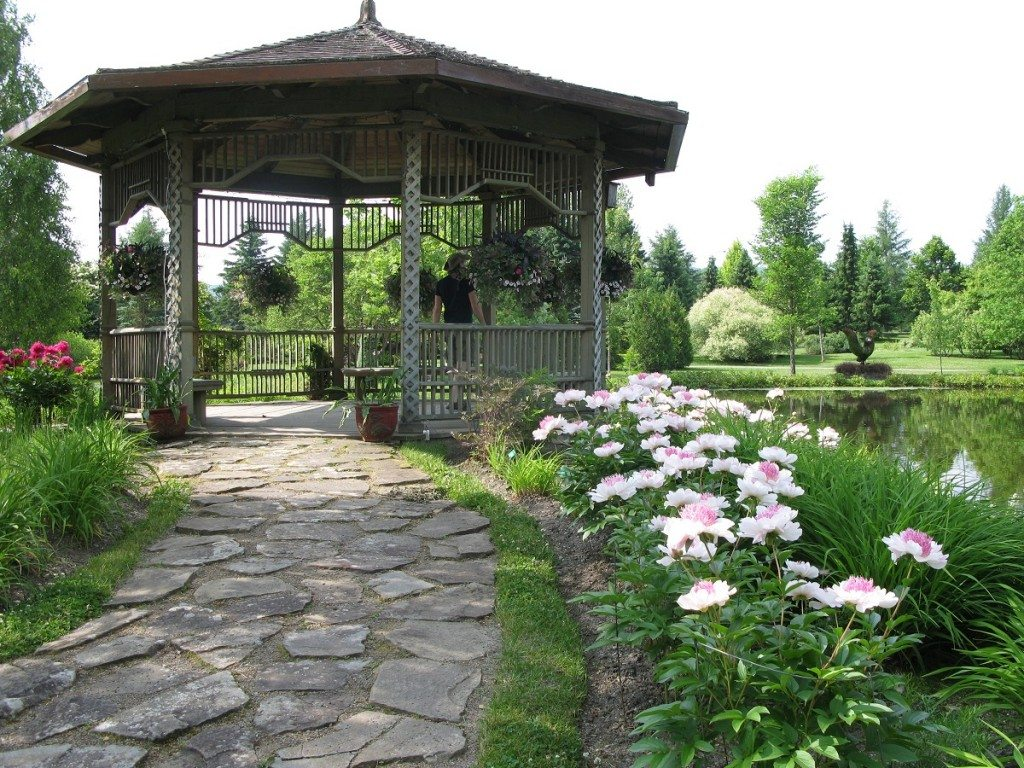 New Brunswick Botanical Garden Gazebo
