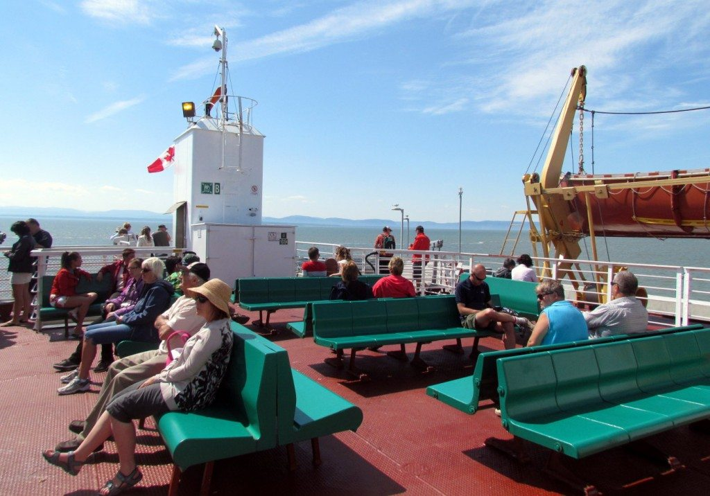 Ferry from Riviere Du Loup to St Simeon