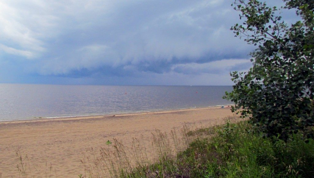 Storm Clouds over Lac St Jean