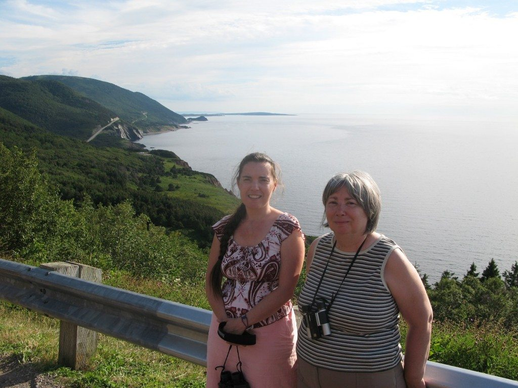 DD and Mama D on The Cabot Trail