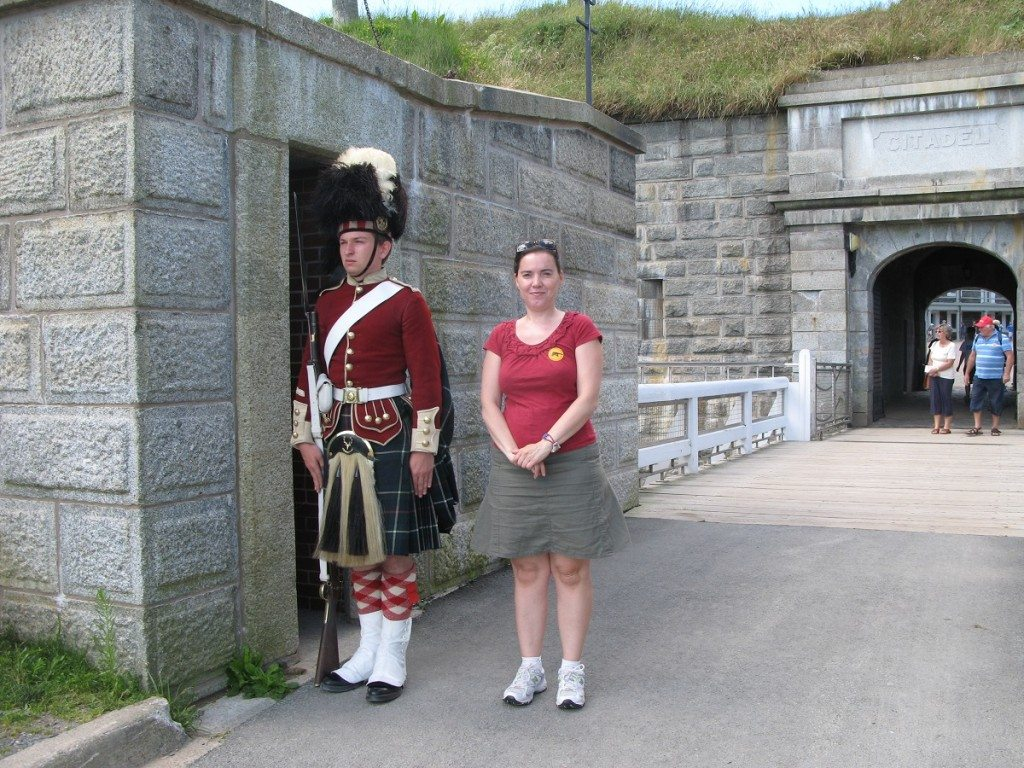 DD at the Halifax Citadel