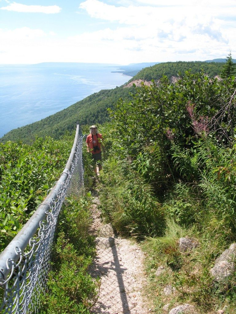 Dami on The Cabot Trail