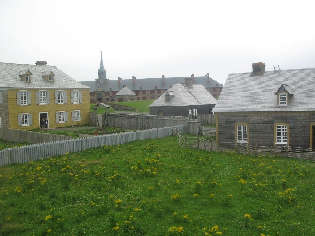 Louisbourg Buildings