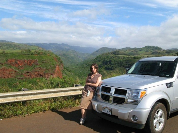 We loved our Dollar Rent a Car Dodge Nitro and they gave great service on all our trip!