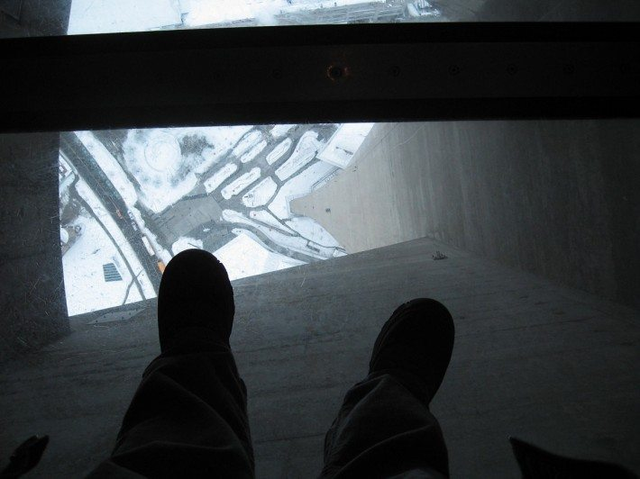 CN Tower Glass Bottom Floo