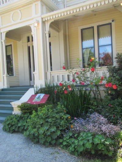 A lot of work was put into the restoration of the Emily Carr house.