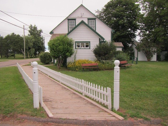 This is where the author of Anne of Green Gables was born on November 30, 1874.