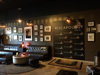 At Escapology, they pt you in a room and you have to solve puzzles just like in viseo games to get out and in our case, we needed to find an antidote to save the world but we failed!