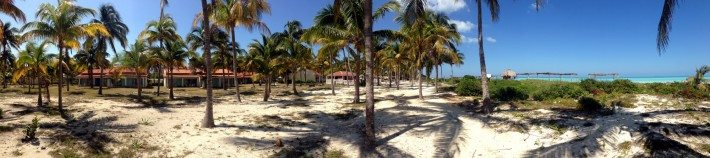 A panoramic view of a Cuban paradise!