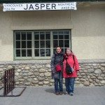 Mama D and DD at Jasper Train Station