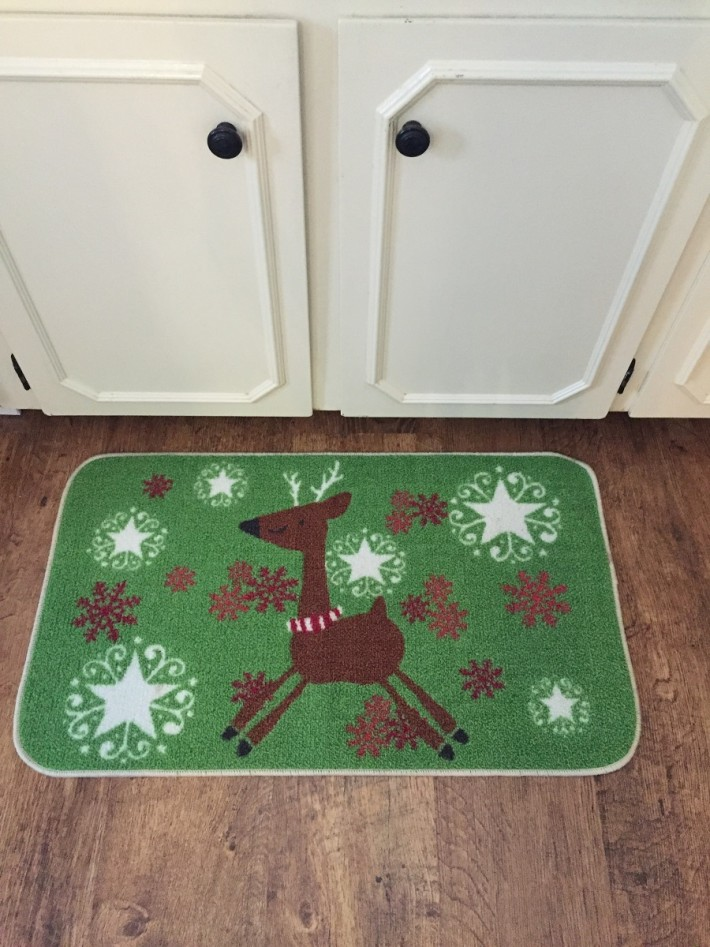 Christmas carpet dec 2015
