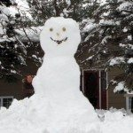 Worlds Biggest Snow Man!