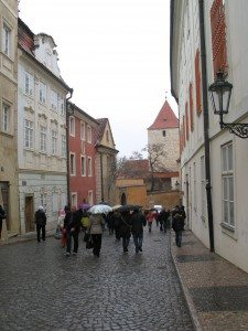 Walk to the Prague Castle