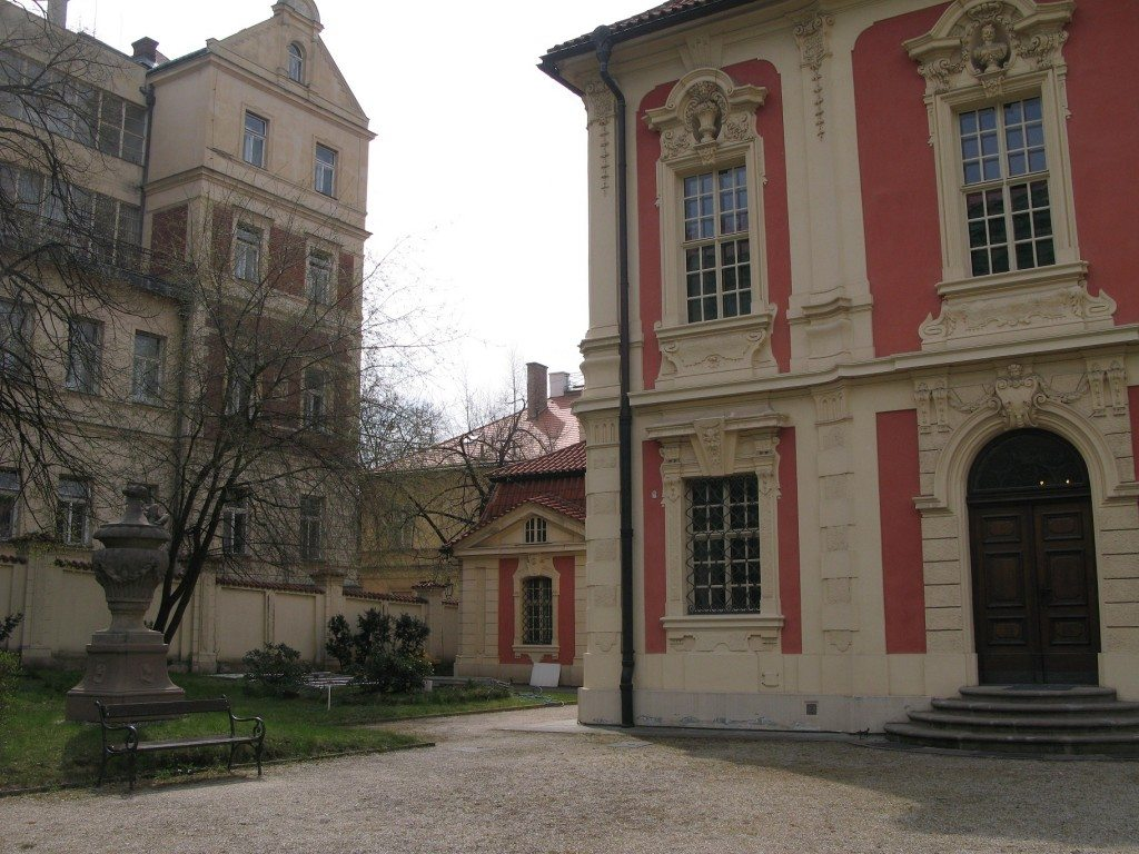 Back of Dvorak Museum