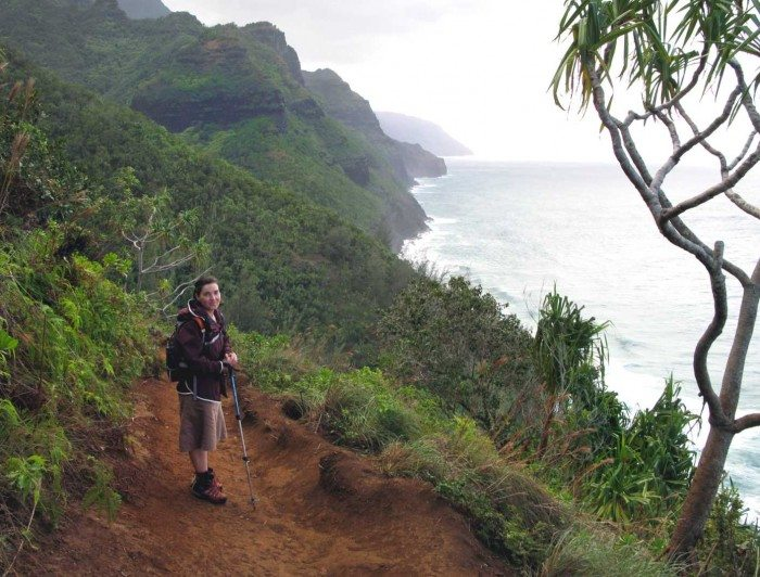 Hiking on Kauai was awqesome. The Napali Coast Trail with the coast and whales in the distance was a most wonderful Hawaiian experience!